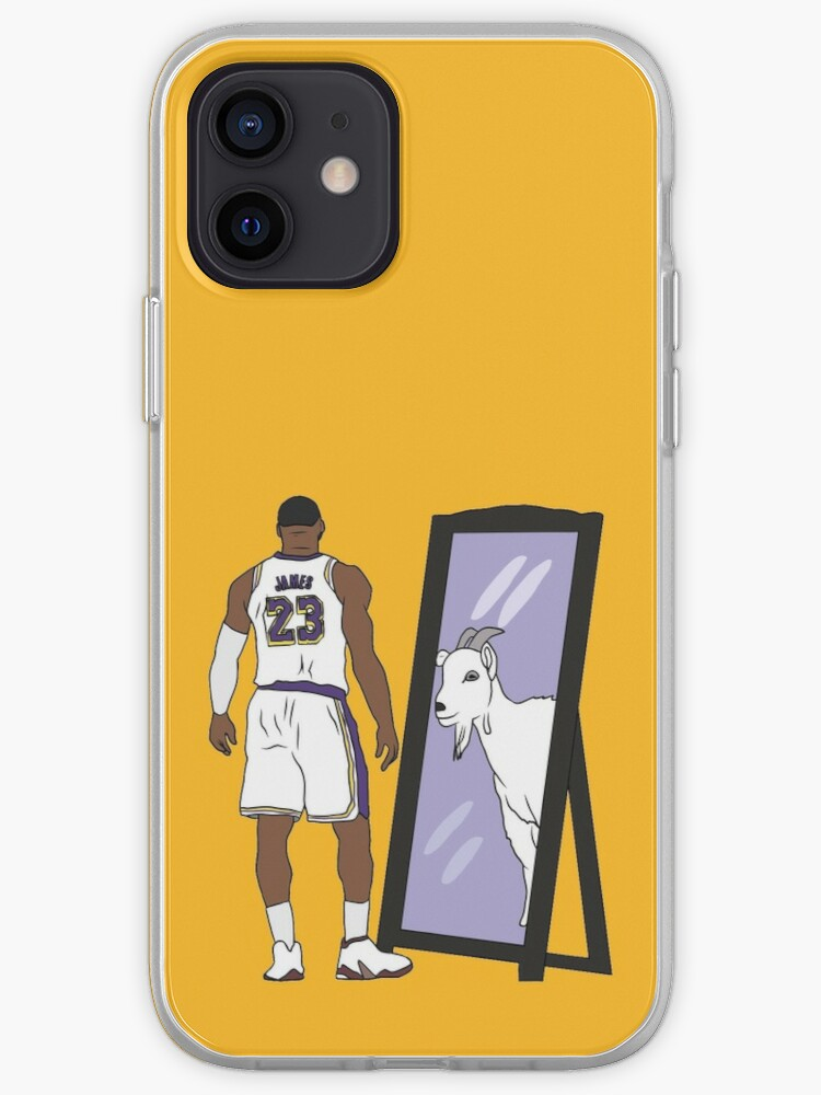 LeBron James Mirror GOAT (Lakers) | iPhone Case & Cover