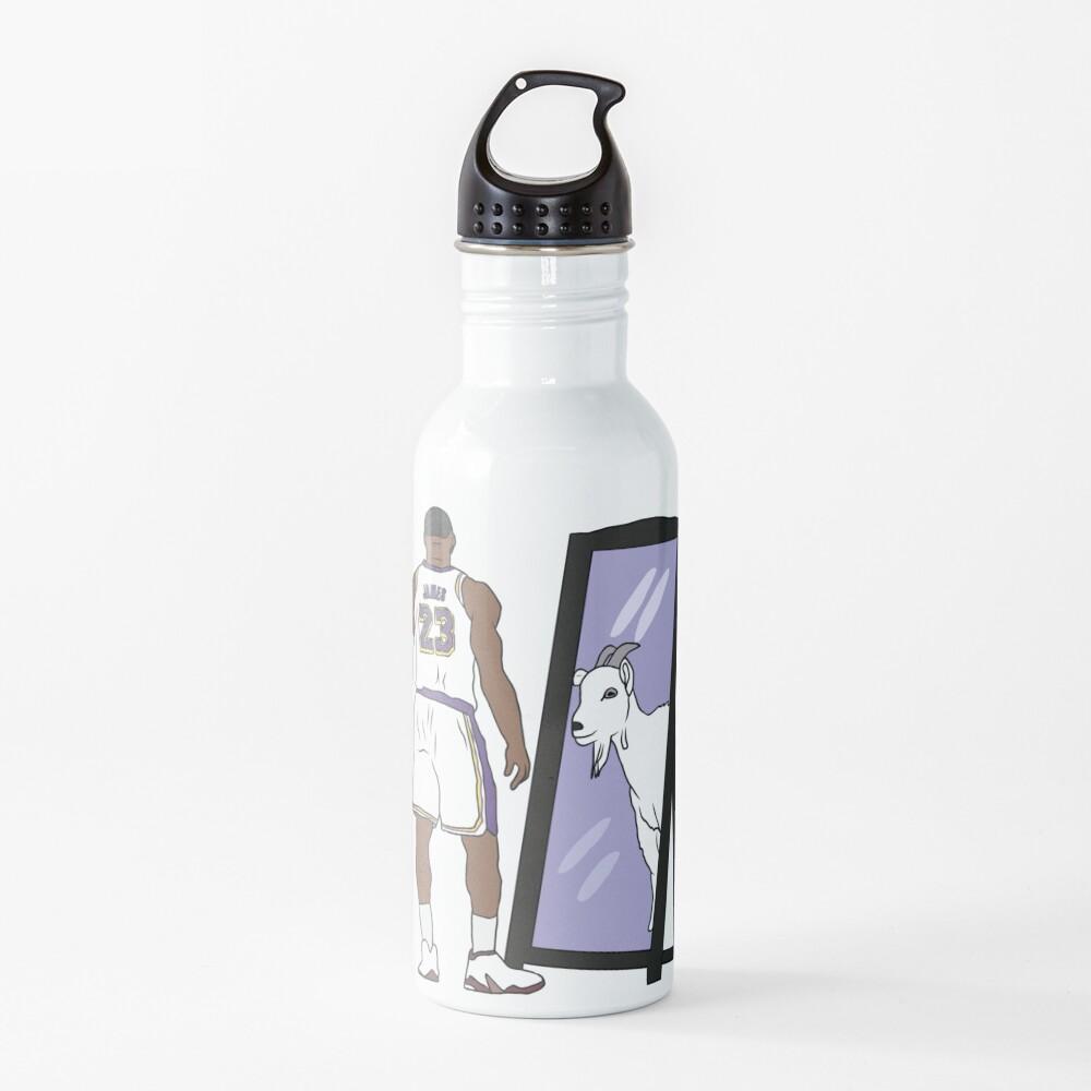 LeBron James Mirror GOAT (Lakers) Water Bottle