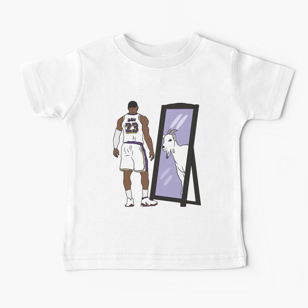 LeBron James Mirror GOAT (Lakers) Baby T-Shirt