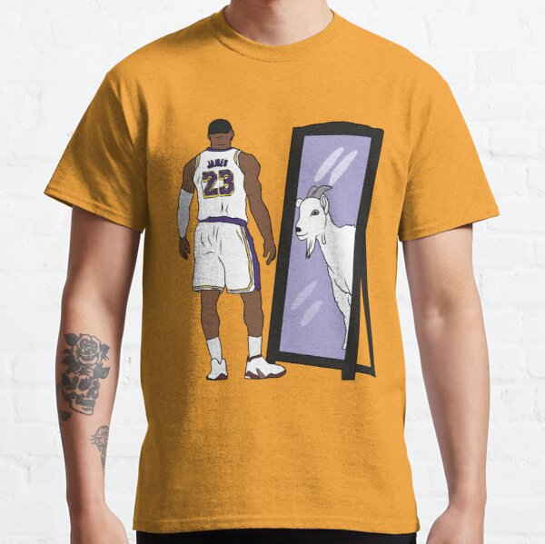 LeBron James Mirror GOAT (Lakers) Classic T-Shirt