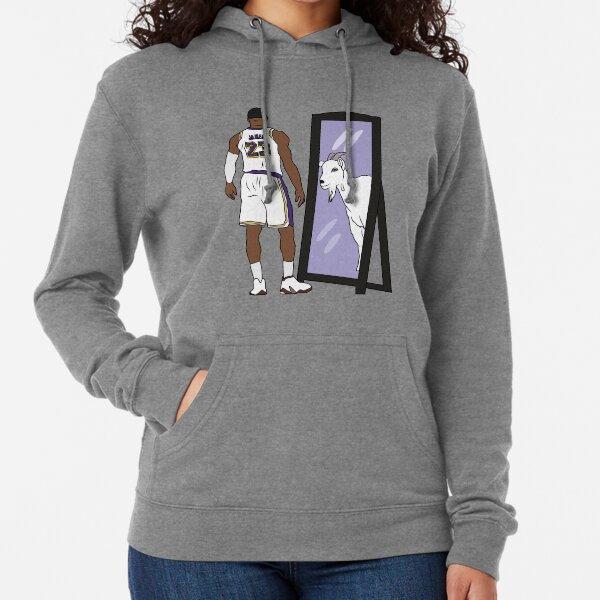 LeBron James Mirror GOAT (Lakers) Lightweight Hoodie