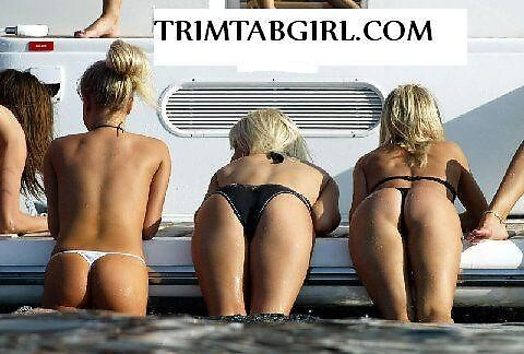 Trim tab girls nauticus for boats  by Girards