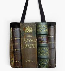 OLD BOOKS OF SHAKESPEARE Tote Bag