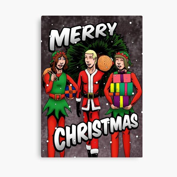 Christmas Card 2019 Canvas Print