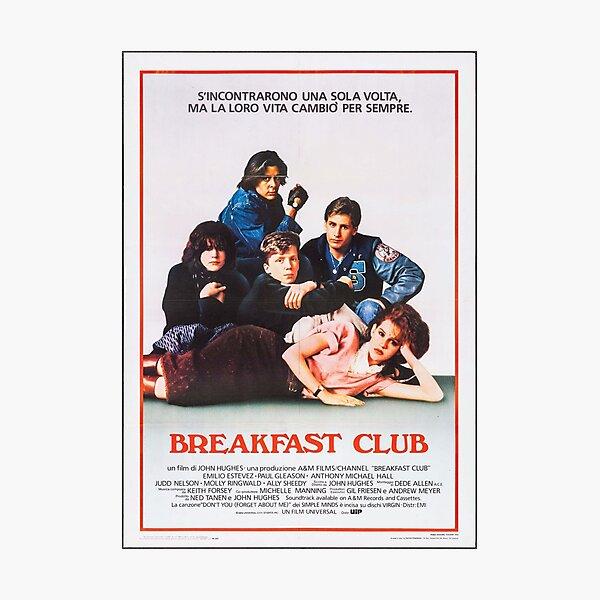 Vintage Breakfast Club Poster Photographic Print