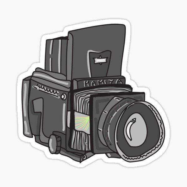 Mamiya Film Camera Sticker! Sticker