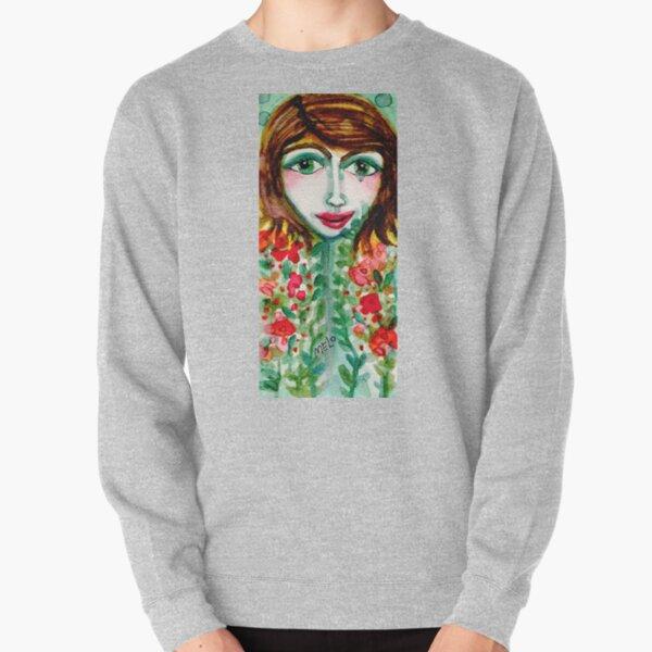 Flower Girl  Pullover Sweatshirt