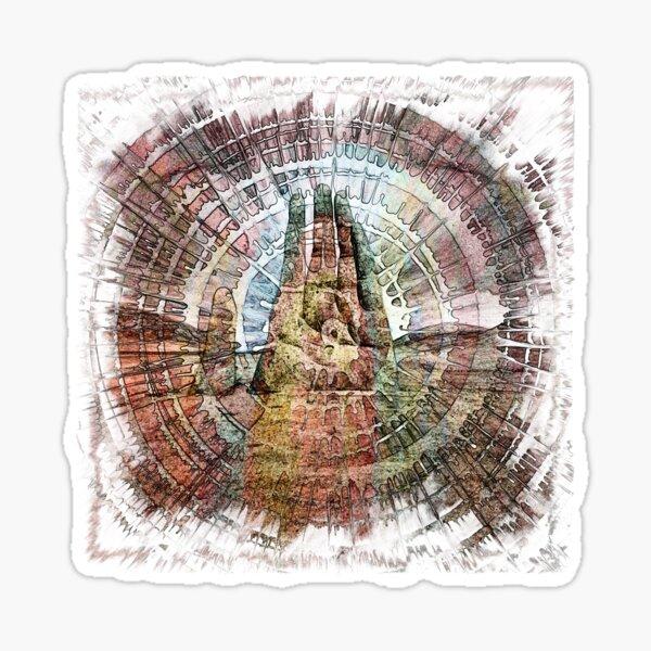 The Atlas of Dreams - Color Plate 208 Sticker