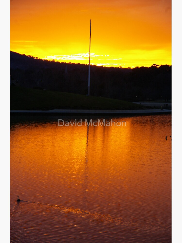 Serenity In Gold by davidmcmahon