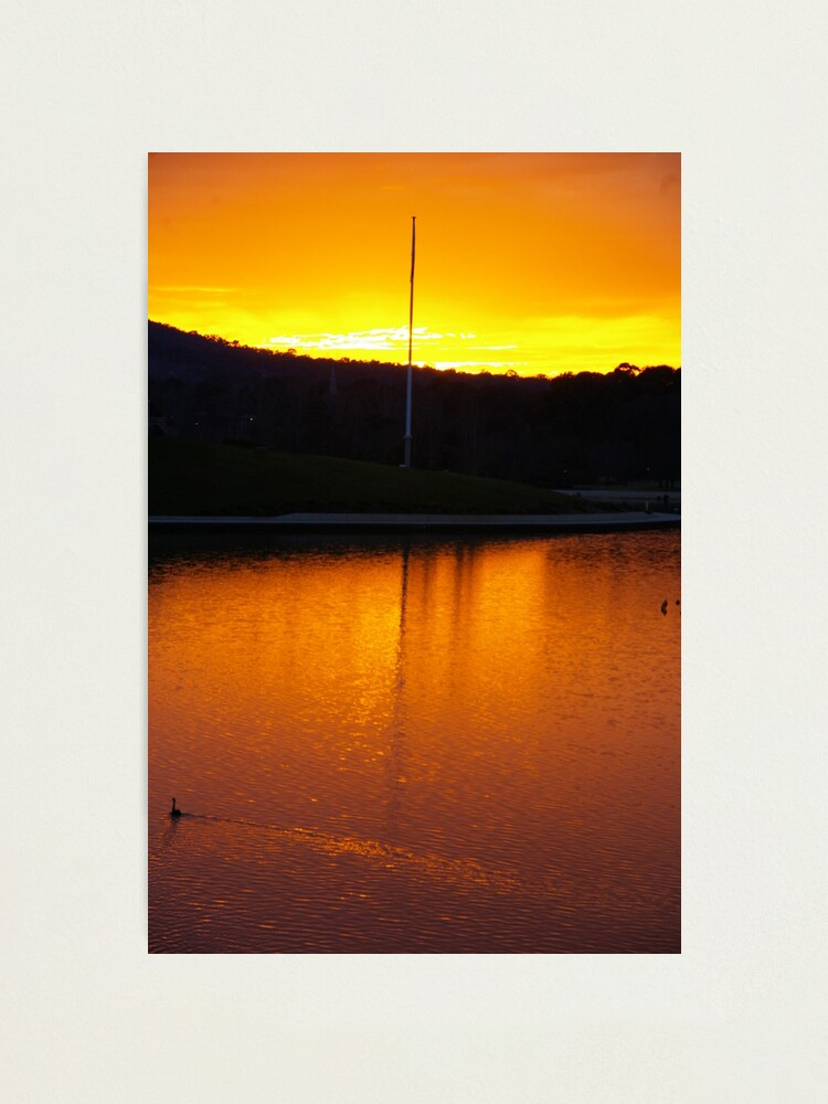 Alternate view of Serenity In Gold Photographic Print