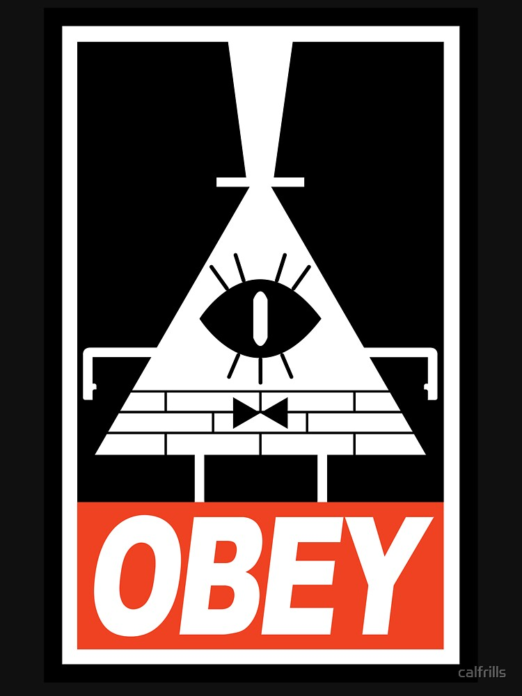 OBEY Bill Cipher | Unisex T-Shirt