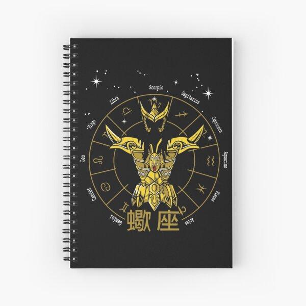 SCORPIO CLOTH - MILO GOLD CLOTH SAINT SEIYA Spiral Notebook