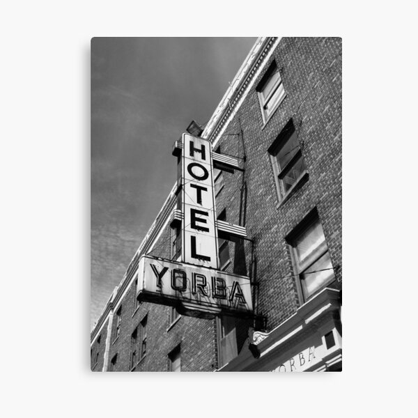 Hotel, Yorba Canvas Print