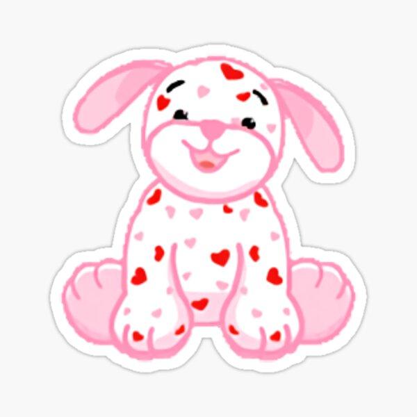 Webkinz Love Puppy Sticker