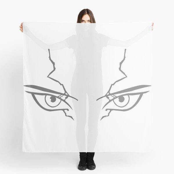 Dr Stone: Senku's eyes minimalist Scarf