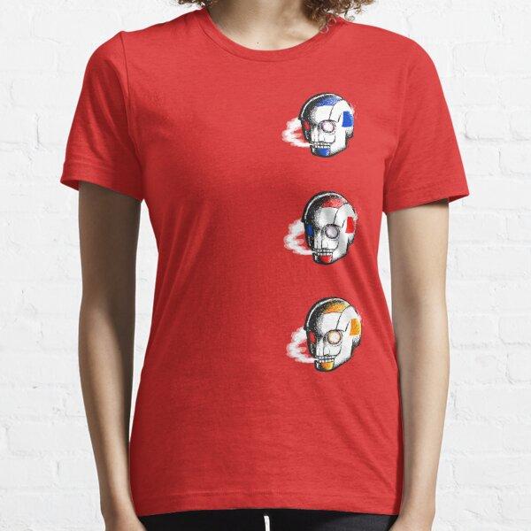 Smokey Cyber Skull Essential T-Shirt