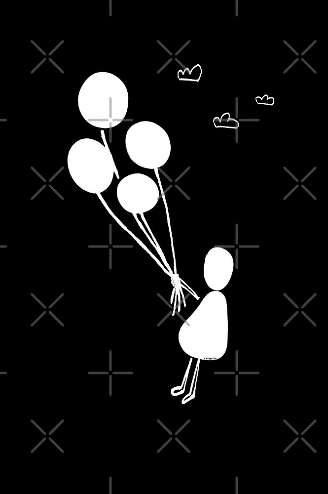 Balloon Girl by by-jwp