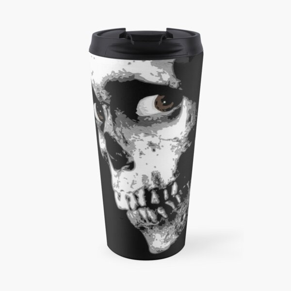 Evil Dead II Skull Travel Mug