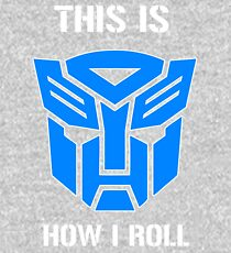 Autobot - This is how I roll Kids Pullover Hoodie