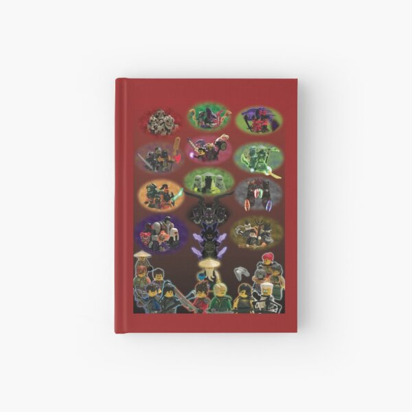 NINJAGO Legacy Poster Hardcover Journal
