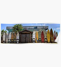 Upcountry Boards Poster