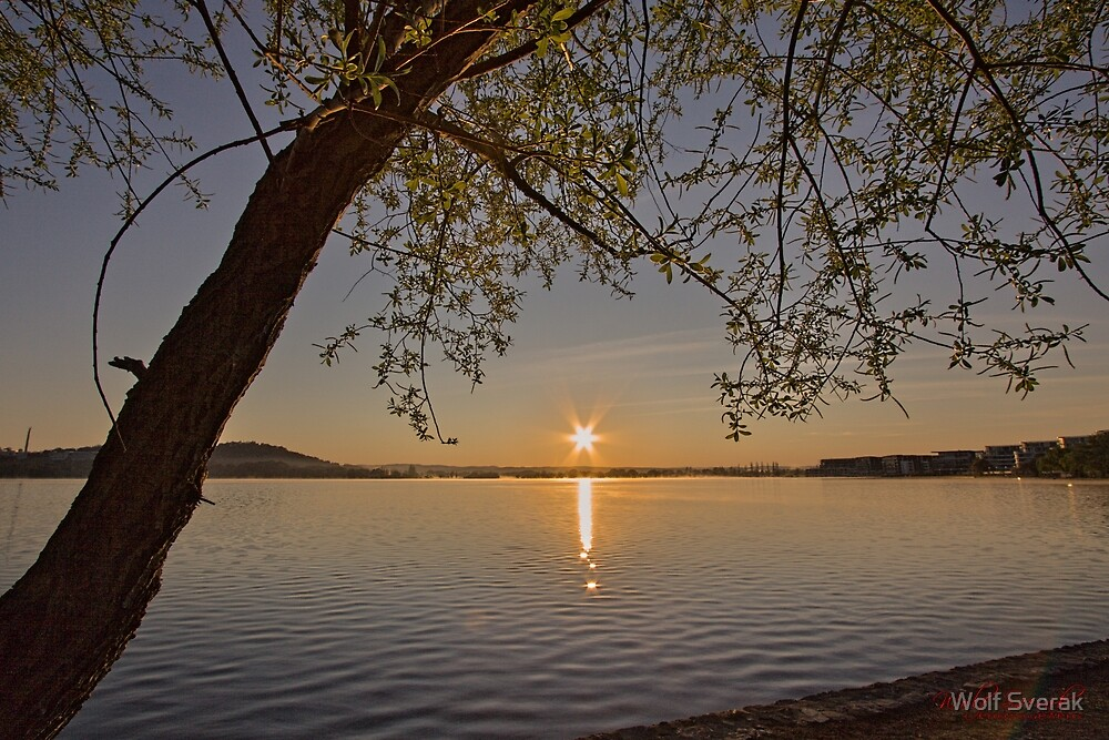 Sunrise at Lake Burley Griffin in Canberra/ACT/Australia (8) by Wolf Sverak