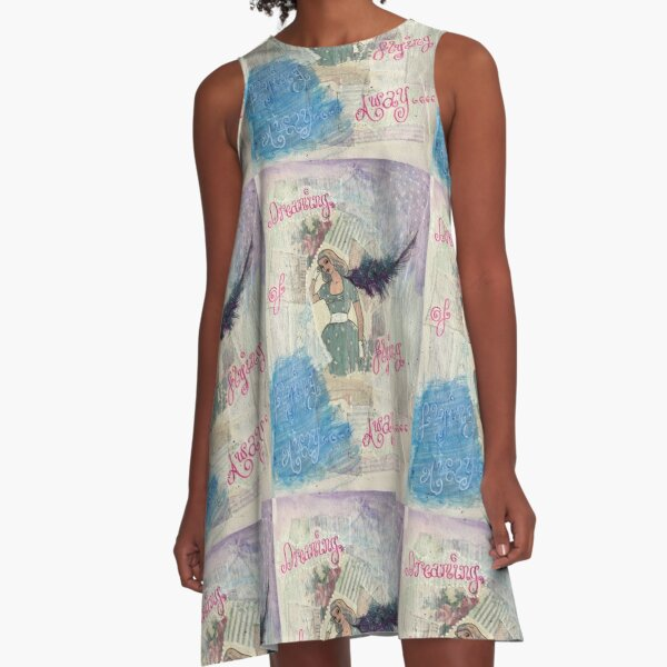Dreaming of Flying Away A-Line Dress