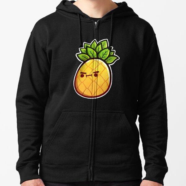 Mr Pineapple Zipped Hoodie