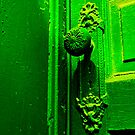 Behind the Green Door by Benjamin Sloma