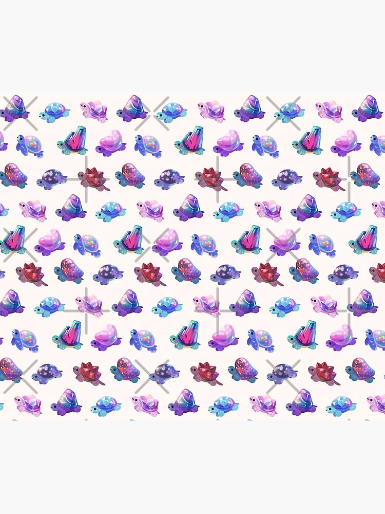 Jewel turtle - pastel by pikaole