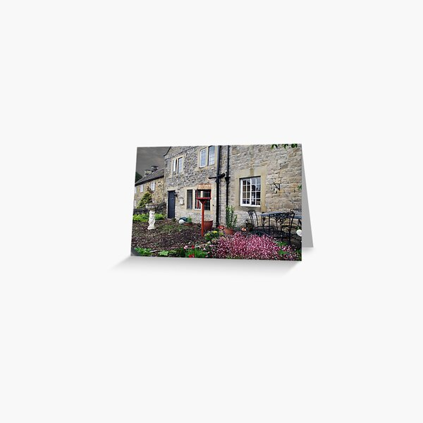 Plague Cottages, Eyam, Derbyhire, England Greeting Card