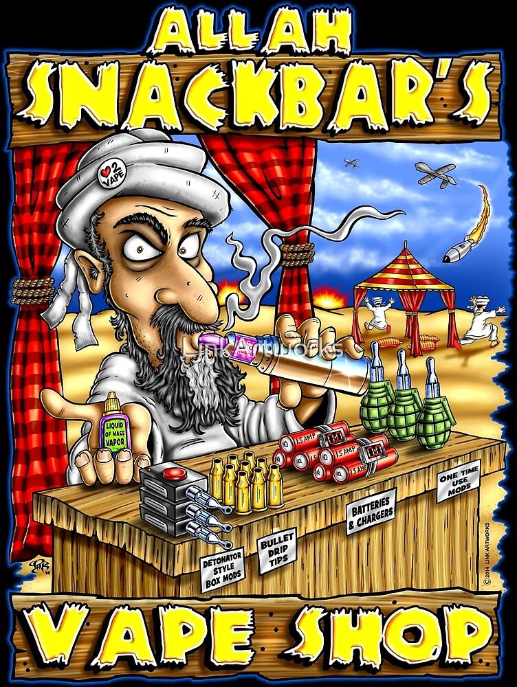 Allah Snackbars Vape Shop by LinkArtworks