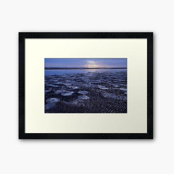 LOW TIDE Framed Art Print