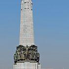 Belgian National Infantry Memorial, Brussels by Margaret  Hyde