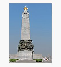 Belgian National Infantry Memorial, Brussels Photographic Print