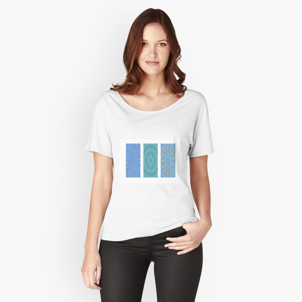 Kaleidoscope Women's Relaxed Fit T-Shirt Front