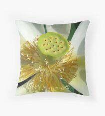 Lotus Details Throw Pillow