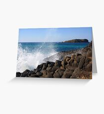 giants causeway ... Greeting Card