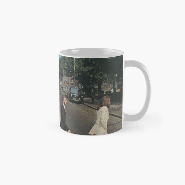 """Abbey Road"" by The Beetles, cover  Classic Mug"
