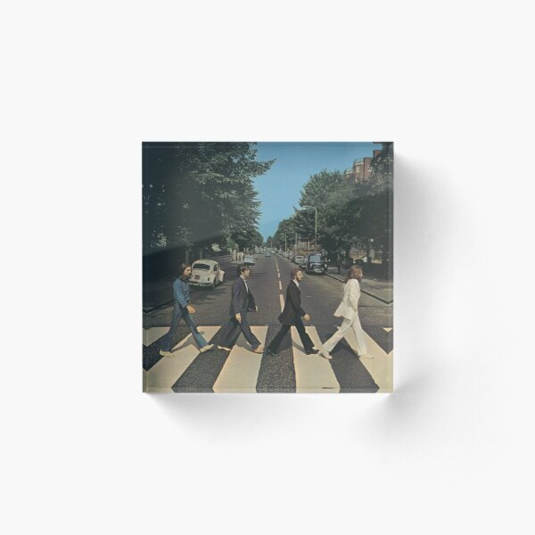 """""""Abbey Road"""" by The Beetles, cover  Acrylic Block"""