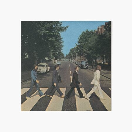 """""""Abbey Road"""" by The Beetles, cover  Art Board Print"""