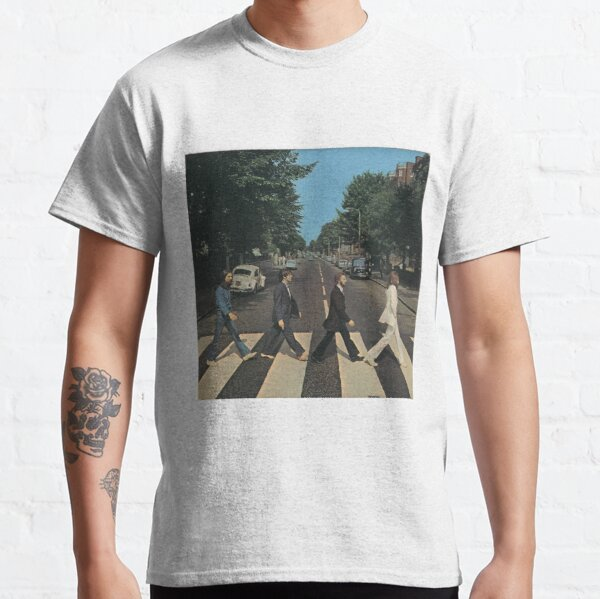 """""""Abbey Road"""" by The Beetles, cover  Classic T-Shirt"""