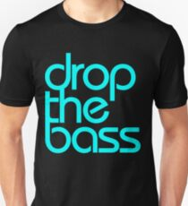 Drop The Bass (cyan) T-Shirt