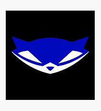 Sly Cooper (Blue) Photographic Print