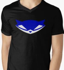 Sly Cooper (Blue) Men's V-Neck T-Shirt