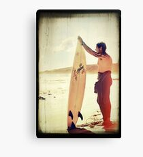 Vintage Surf Canvas Print