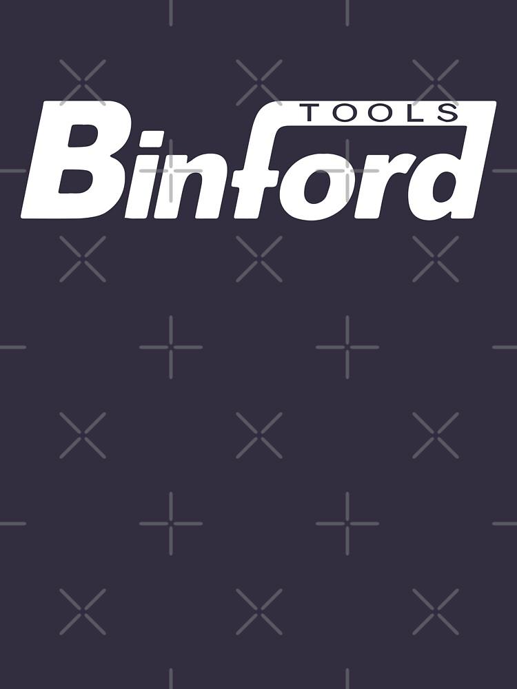 Binford Tools t-shirt - Home Improvement, Tim Taylor, Tool Time, The Tool Man by fandemonium