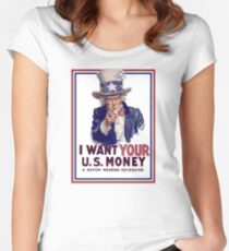 Mad Hatter Tea Party Downgrade Women's Fitted Scoop T-Shirt