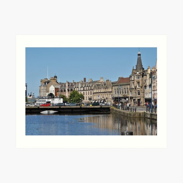 The Shore, Leith,Edinburgh Art Print