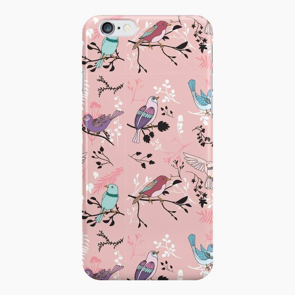 Vogel-Glückseligkeit iPhone-Hülle & Cover